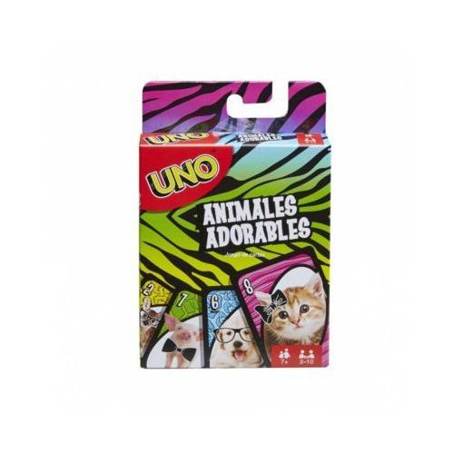 Gra Uno Baby Animal