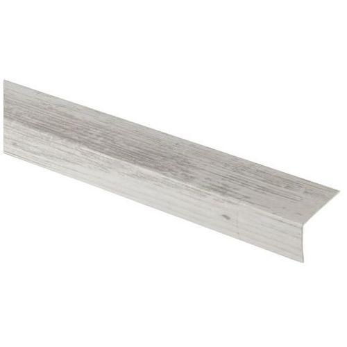 Goodhome Profil schodowy 35 x 25 x 900 mm jasne drewno