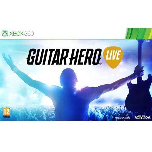 Guitar Hero Live (Xbox 360) Darmowy transport od 99 zł | Ponad 200 sklepów stacjonarnych | Okazje dnia!