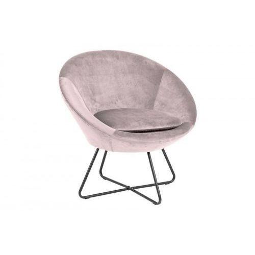 Fotel center vic różowy marki D2