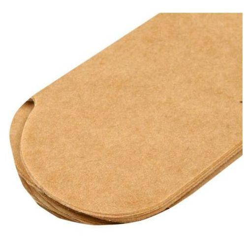 Papierowy pompon 15 cm - naturalny - NAT (73011914)