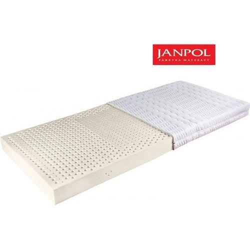JANPOL ATENA - materac lateksowy, piankowy, Rozmiar - 90x200, Pokrowiec - Jersey Standard WYPRZEDAŻ, WYSYŁKA GRATIS