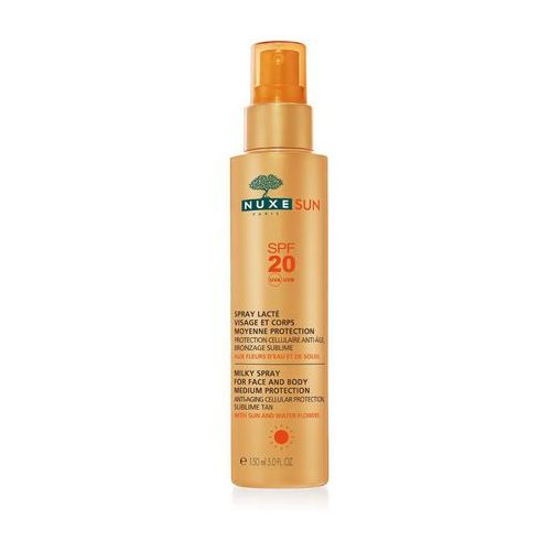 Nuxe sun spray do opalania spf 20 (anti-aging cellular protection) 150 ml (3264680005855)