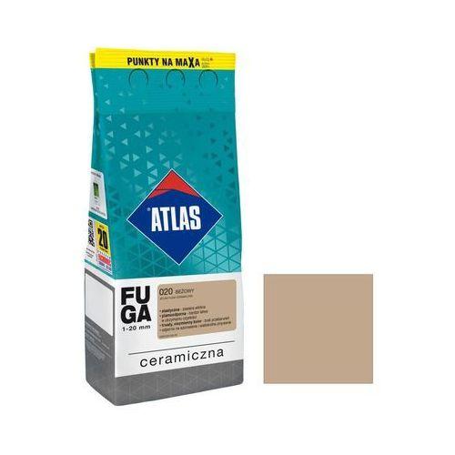 Atlas Fuga ceramiczna 020 beżowy 2 kg