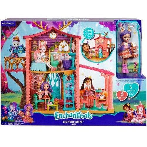 Enchantimals domek jelonkow frh50 wb2 marki Mattel