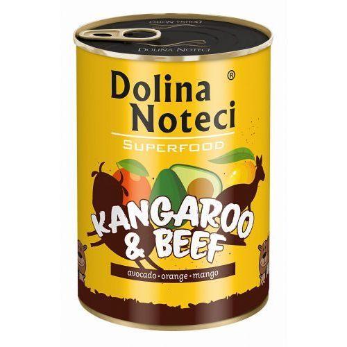 Dolina noteci superfood kangaroo beef 400g karma w puszce kangur wołowina