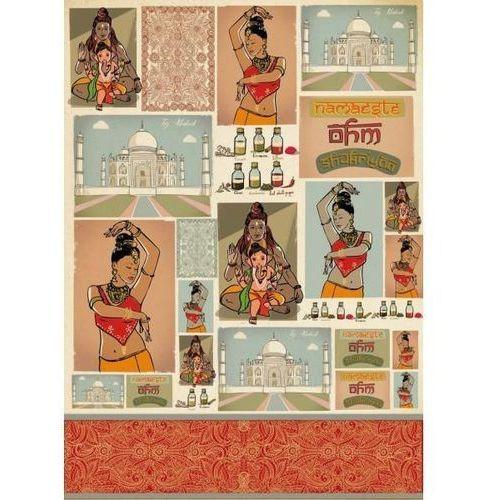 Papier klasyczny do decoupage 50x70 cm - 415 marki Stamperia
