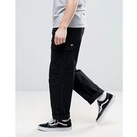 Dickies Cargo Trousers In Straight Fit - Black, proste
