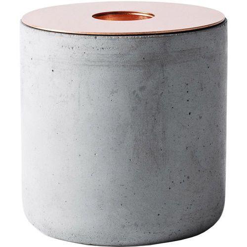 Menu Świecznik z betonu chunk (5612059)
