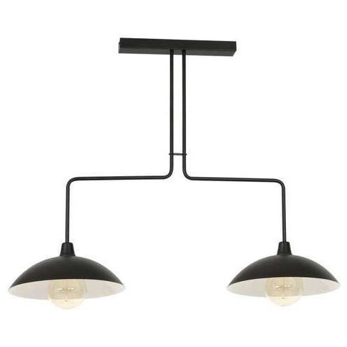 Aldex Mentos 1022PL/H1 plafon lampa sufitowa 2x40W E14 czarny (5904798650261)