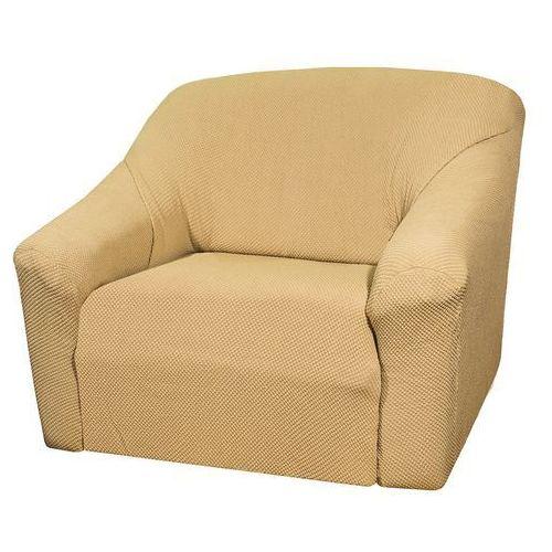 4Home Pokrowiec multielastyczny na fotel, beżowy, Elegant, 70 - 110 cm, 70 - 110 cm