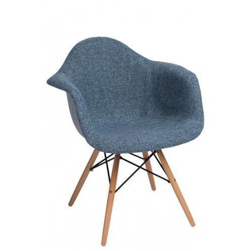 Krzesło p018 daw duo niebiesko szare marki Domfan design