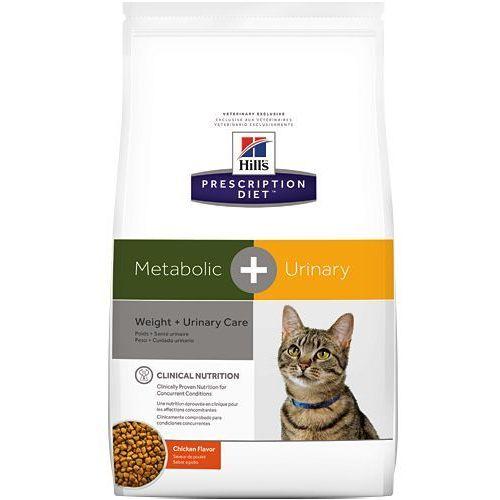 Hills prescription diet Hill's pd prescription diet metabolic + urinary feline 1,5kg/ data ważności do 07/2019