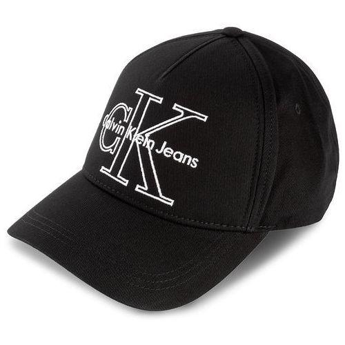 Czapka z daszkiem CALVIN KLEIN JEANS - Re-Issue Baseball K40K400101 001, kolor czarny