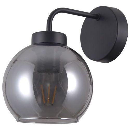 Italux Poggi WL-28028-1 kinkiet lampa ścienna 1x40W E27 czarna matowa