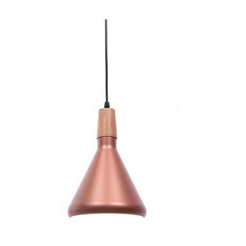 Lumina deco Nowoczesna lampa wisząca skandynawska zwis różowe złoto bafido a1