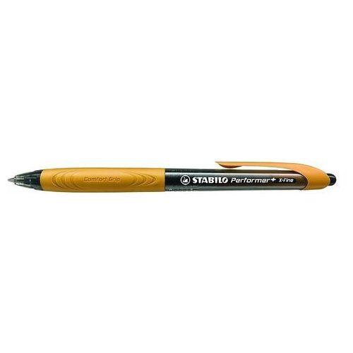 Długopis STABILO Performer+ czarny/pomarańczowy 328/3-46-2