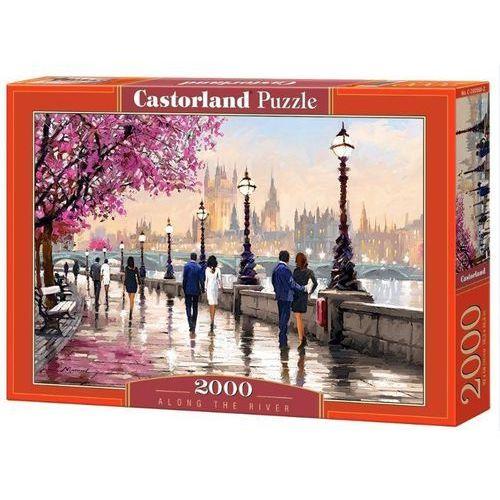 Castorland Puzzle 2000 elelmentów spacer wzdłuż rzeki (c-200566)
