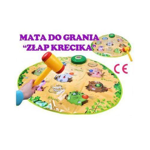 """OKAZJA - Gra Zręcznościowa """"Złap Krecika"""" + Młotek."""