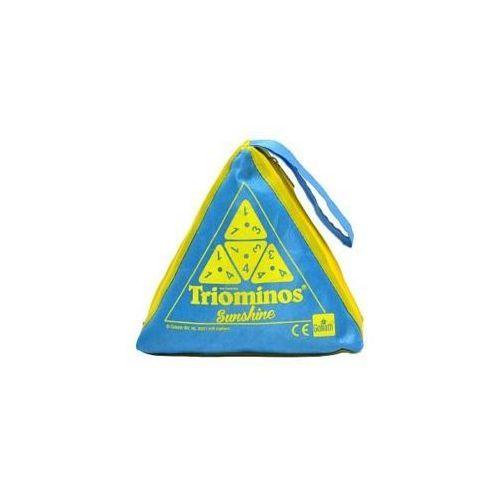 Triominos sunshine - niebieski marki Goliath
