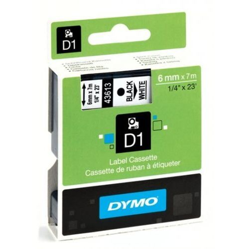 Taśma do drukarki d1 12x7m nieb/bezbar 45011 marki Dymo