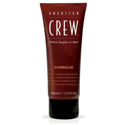 superglue   ekstremalnie utrwalający żel do stylizacji włosów 100ml marki American crew