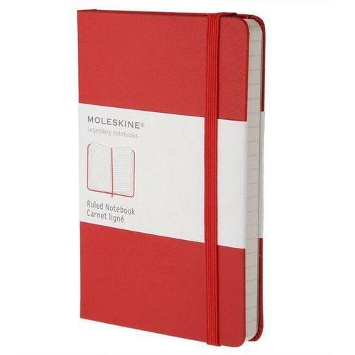 Moleskine Notes p  classic w linie czerwony (9788862930000)