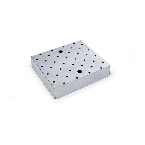Ruszt z blachy perforowanej, ocynkowanie, szer. x głęb. 500x500 mm. do półek wan marki Mba-system sp. z.o.o.