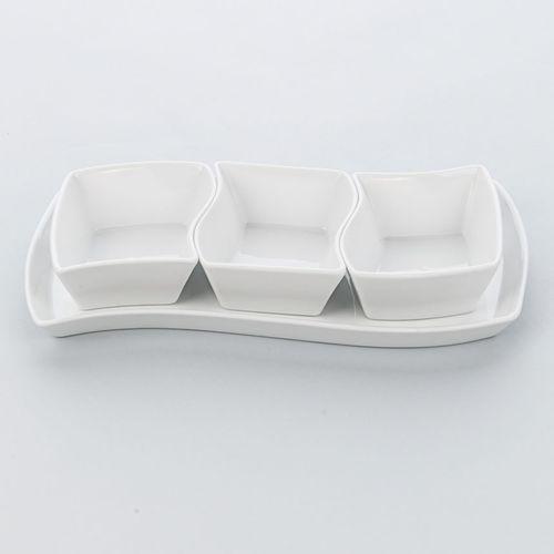 Karolina Zestaw salaterek porcelanowych apulia