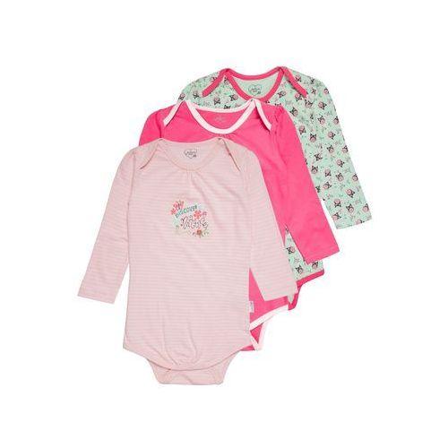 Gelati Kidswear LONGSLEEVE LOVE NATURE 3 PACK Body multicolor, 17220073