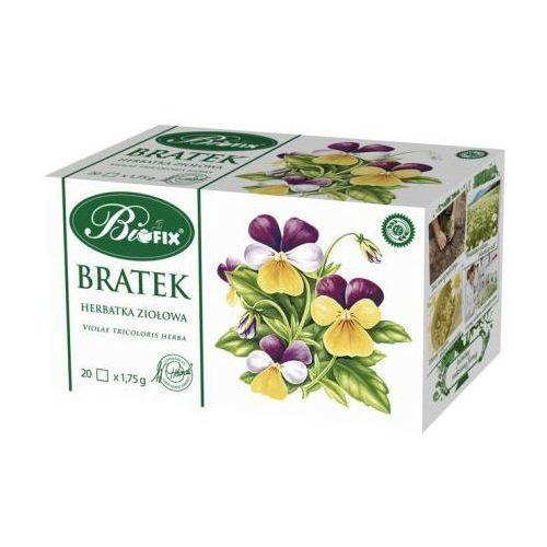 Herbata ziołowa ekspresowa bratek 35 g Bifix (ziołowa herbata)