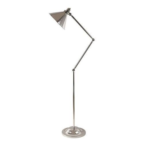 Lampa podłogowa provence 1lt polerowany nikiel marki Elstead