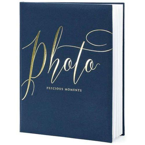 """Partydeco Album na zdjęcia """"precious moments"""", , 20 x 24,5 cm, czarny, 22 kartki (5902230789081)"""