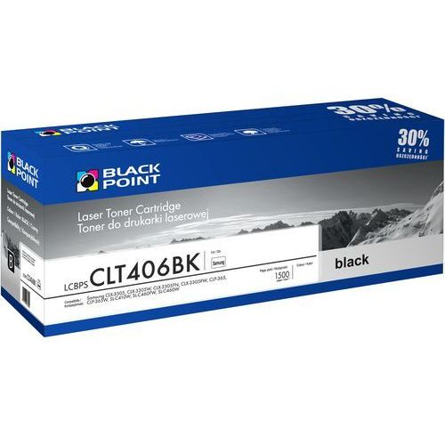 Toner BLACK POINT LCBPSCLT406BK Zamiennik Samsung CLT-K406S, LCBPSCLT406BK
