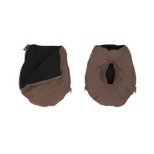 ALTABEBE Mufka Alpin - ocieplacz rąk na wózek dziecięcy kolor oliwkowy - kolor czarny (4260315691898)