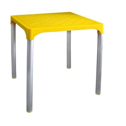 Mega plast stół mp1351 viva, żółty