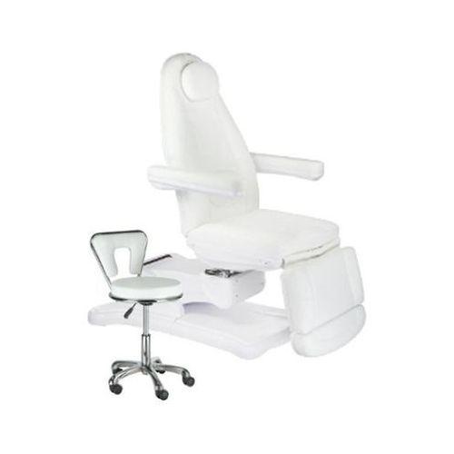 Fotel kosmetyczny + Zestaw Start 6672 Biały