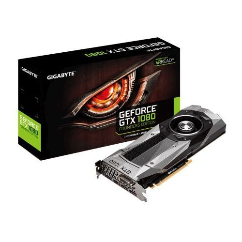 Gigabyte GeForce GTX 1080 Founders Edition 8GB GDDR5X (256Bit)