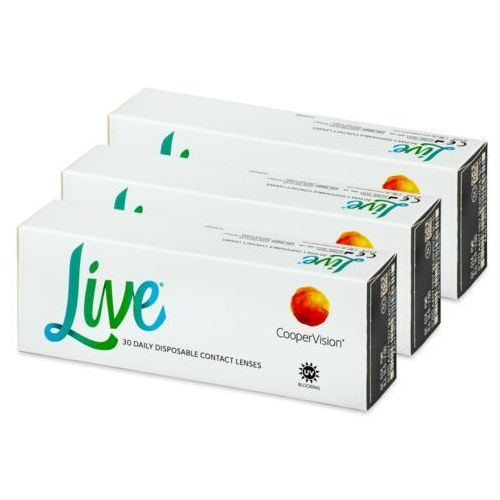 Live daily disposable (90 soczewek) marki Coopervision