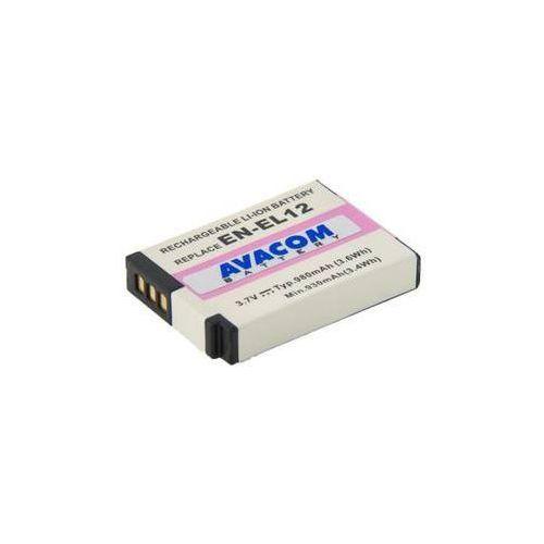 Avacom Bateria do notebooków  pro nikon en-el12 li-ion 3.7v 980mah (dini-el12-734) szara