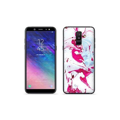 Samsung Galaxy A6 Plus (2018) - etui na telefon Fantastic Case - różowy marmur, ETSM720FNTCFC030000