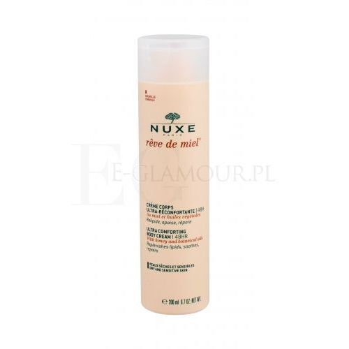 rêve de miel ultra comforting body cream 48hr krem do ciała 200 ml dla kobiet marki Nuxe