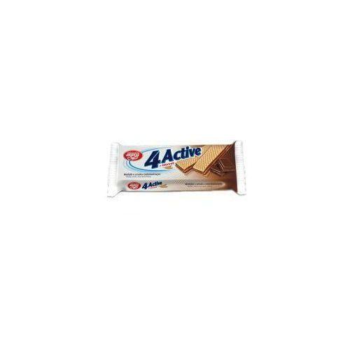 Wafle 4Active czekoladowe z błonnikiem 75g Skawa