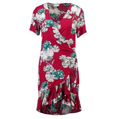 Vila VICONDIA Sukienka letnia cabernet, w 5 rozmiarach
