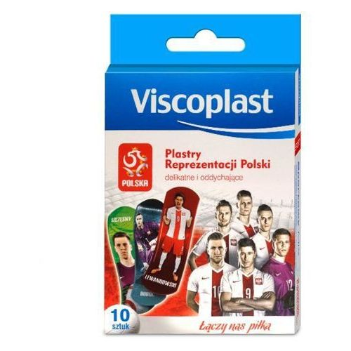 Viscoplast Reprezentacji Polski zestaw plastrów x 10 sztuk