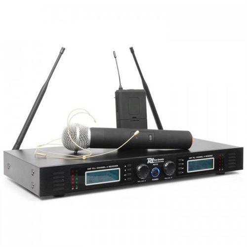 pd732c 2x 16-kanałowy, radiowy system mikrofonowy uhf marki Power dynamics