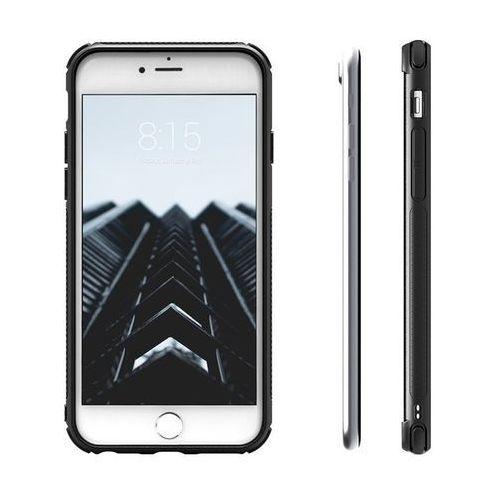 pik case - etui iphone 7 ze szkłem 9h na ekran (czarny) marki Zizo
