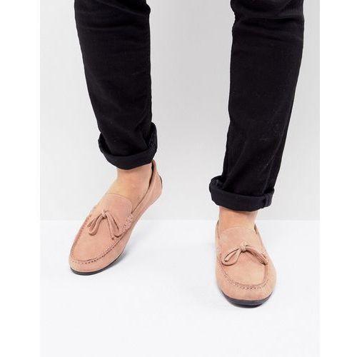 Kg by kurt geiger ringwood driving shoes in suede - pink, Kg kurt geiger