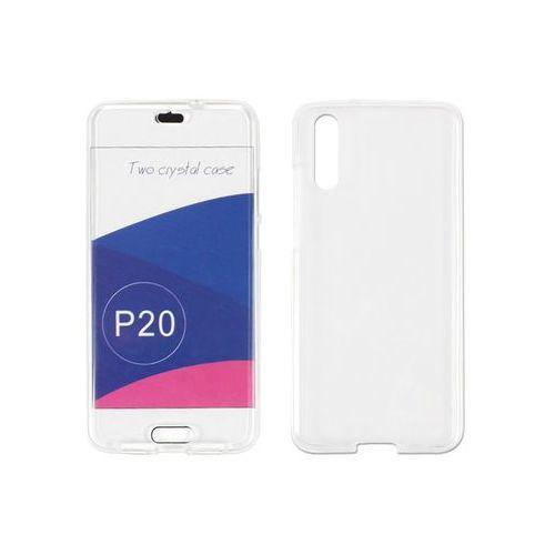 Huawei p20 pro - etui na telefon full body slim - biały marki Etuo full body slim