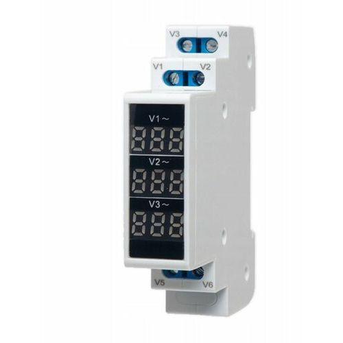 Modułowy miernik napięcia 3F (80-500VAC) SPMV\3